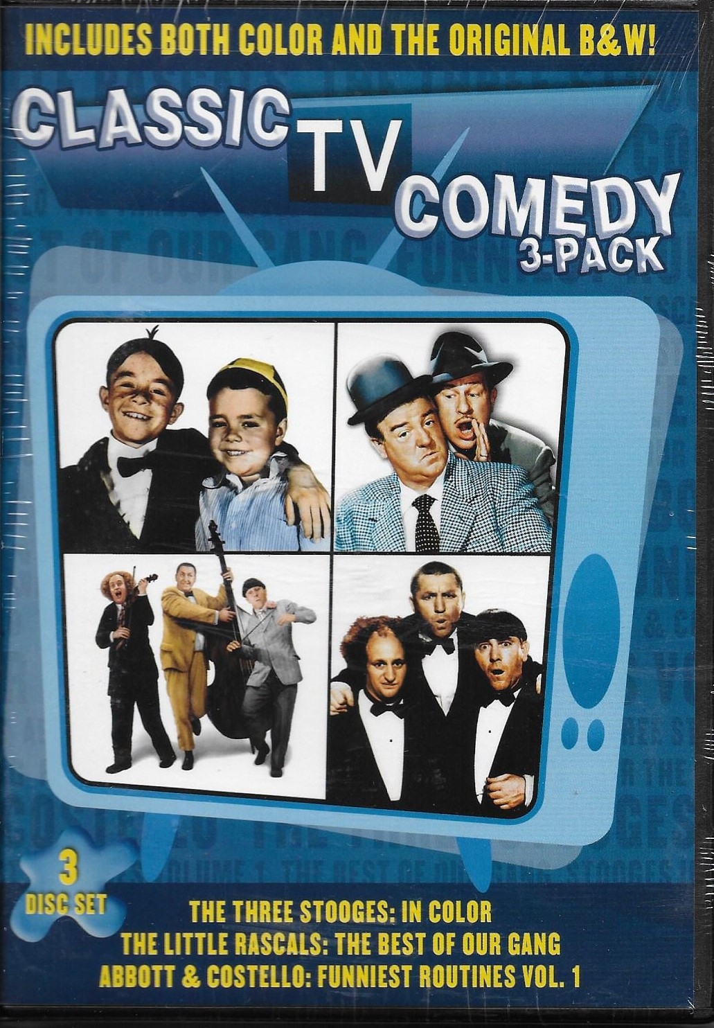 CLASSIC COMEDY 3-PACK - Click Image to Close