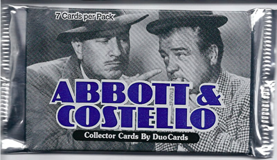 Abbott & Costello Collector Cards by DuoCards