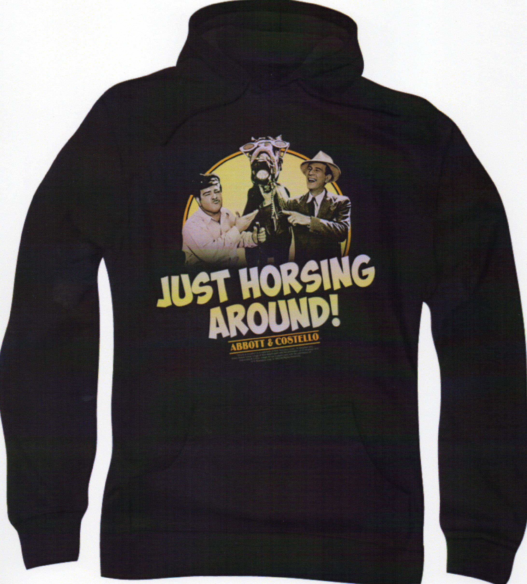 Just Horsing Around Adult pull-Over Hoodie
