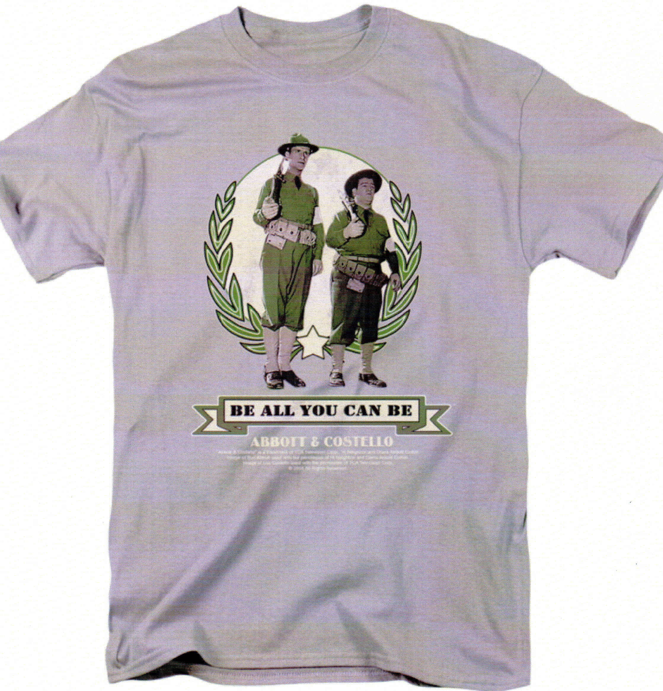 Be All You Can Be Short Sleeve Tee (grey)