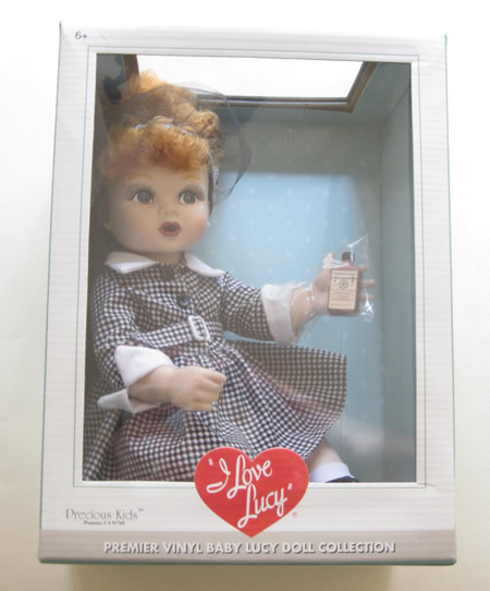 """I Love Lucy"" Premier Vinyl Baby Lucy Doll - Click Image to Close"