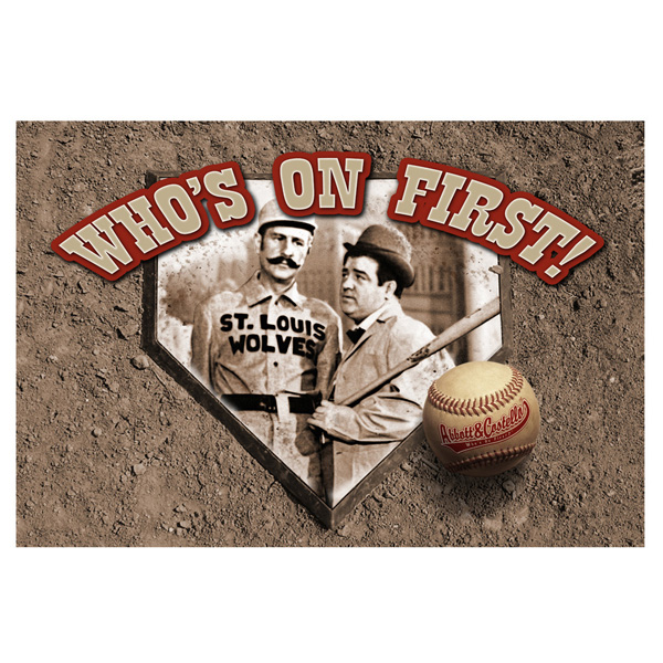 ABBOTT & COSTELLO WOF DOOR MAT