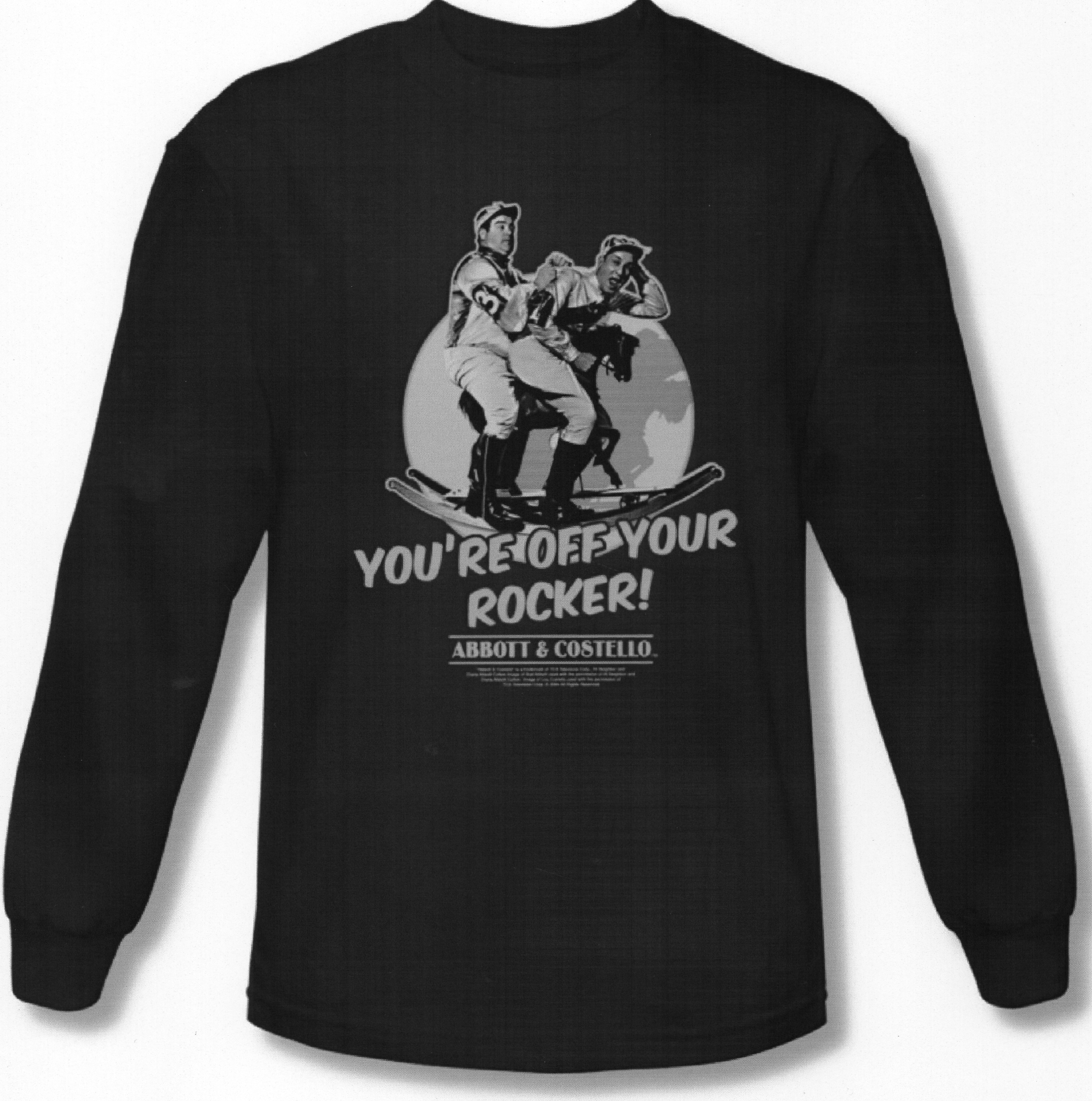 You're Off Your Rocker! Adult Long Sleeve Tee