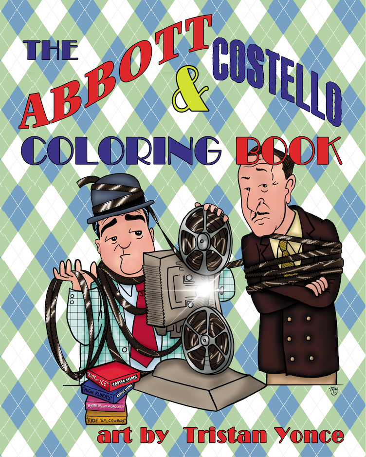 ABBOTT AND COSTELLO COLORING BOOK