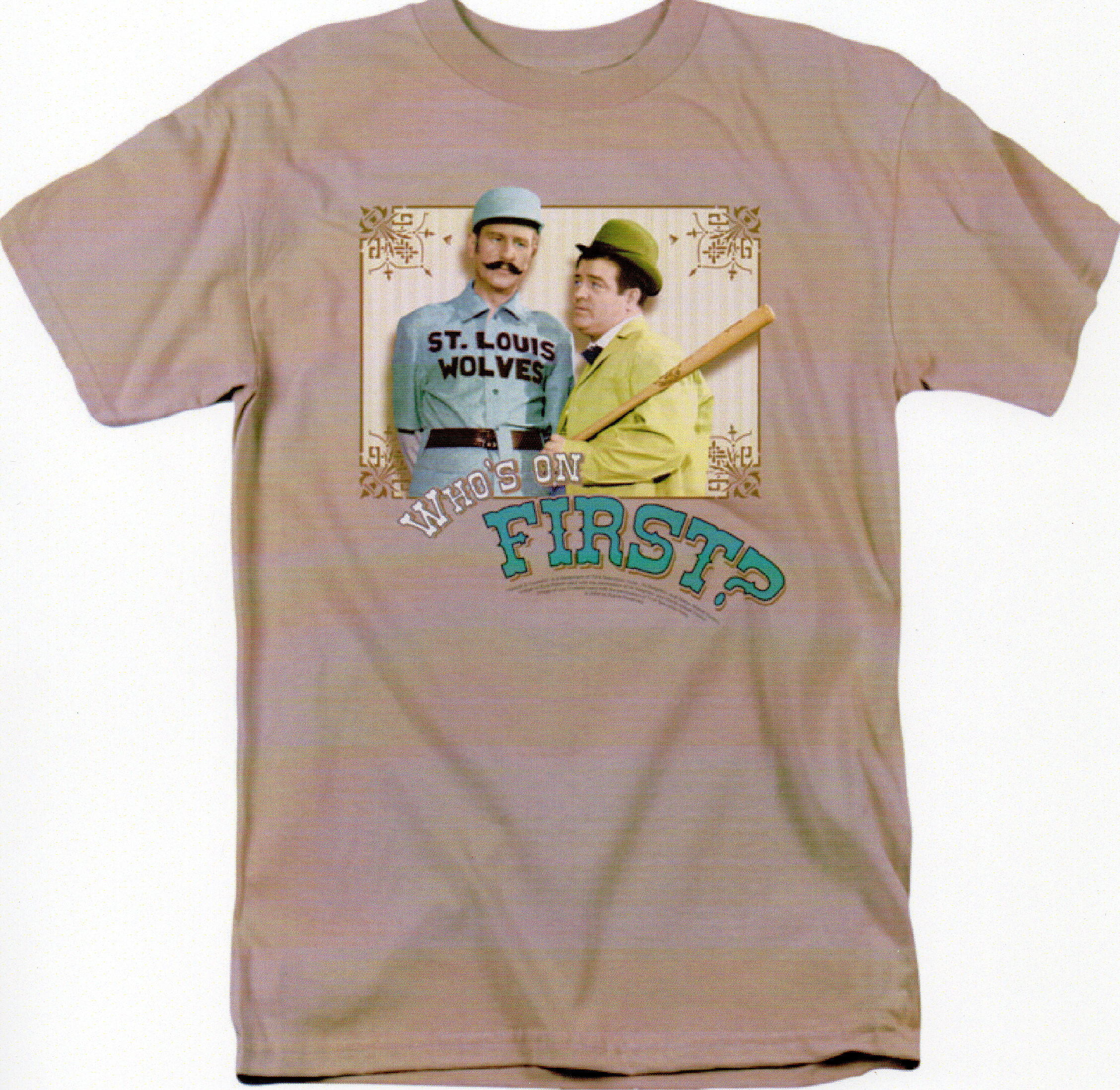 Who's On First? Short Sleeve Tee