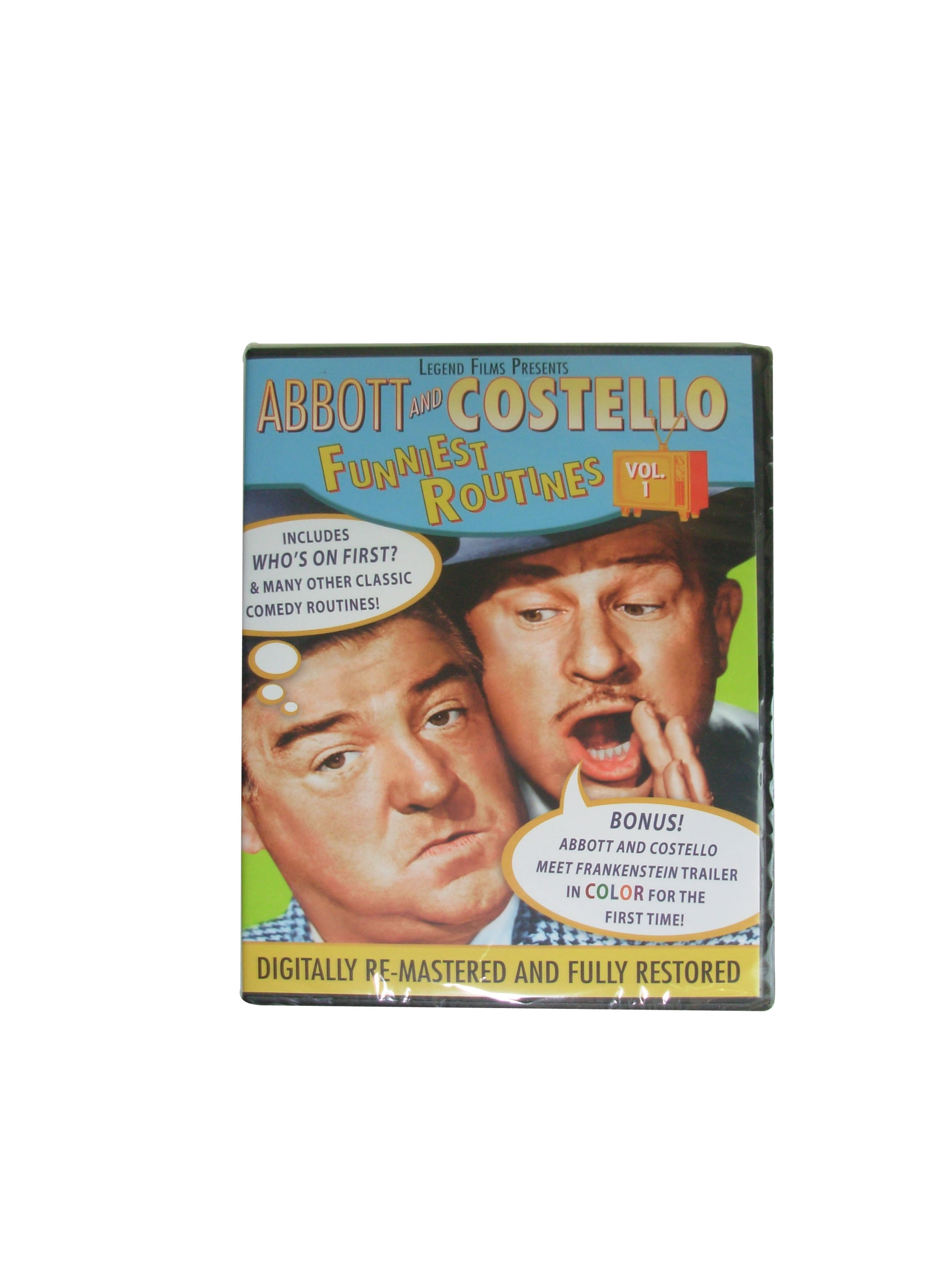 Abbott & Costello Funniest Routines, Vol 1