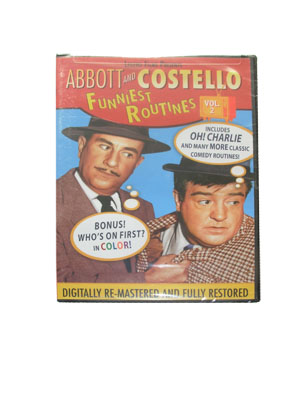 Abbott & Costello Funniest Routines, Vol 2