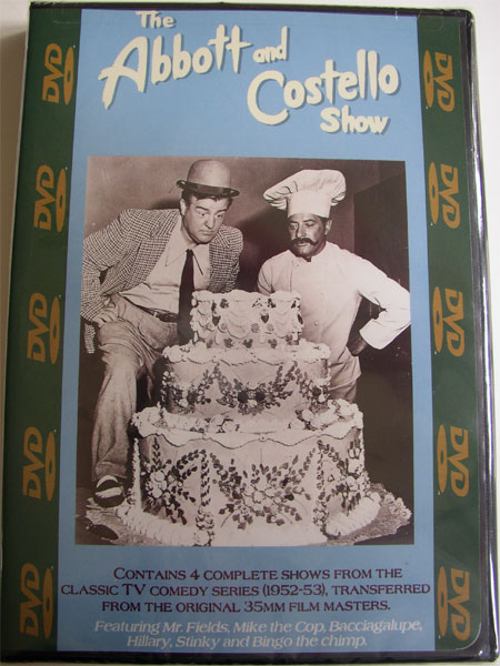 """The Abbott & Costello Show"" DVD Vol. #402"