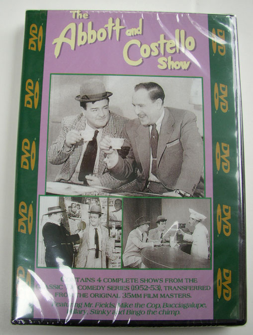 """The Abbott & Costello Show"" DVD Vol. #404"
