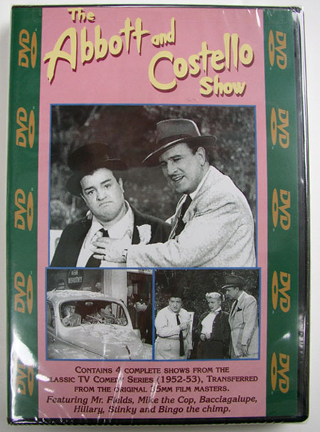 """The Abbott & Costello Show"" DVD Vol. #409"