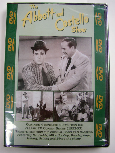 """The Abbott & Costello Show"" DVD Vol. #412 - Click Image to Close"