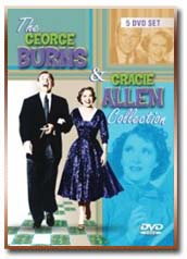 The George Burns & Gracie Allen 5-DVD Collector Set