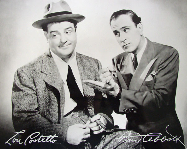 Abbott and Costello - Click Image to Close
