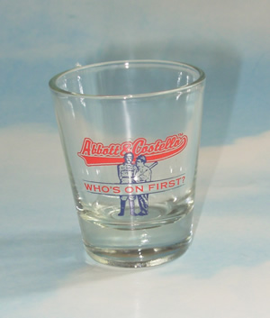 """Who's On First"" Pint Shot Glass"
